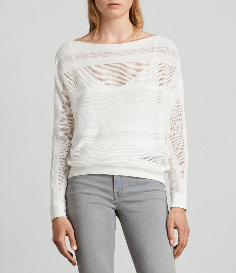 Damen Springs Pullover (chalk_white) - Image 1