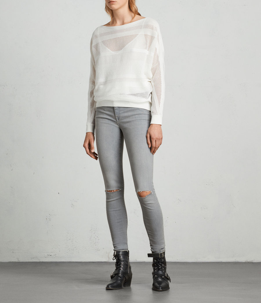 Damen Springs Pullover (chalk_white) - Image 3