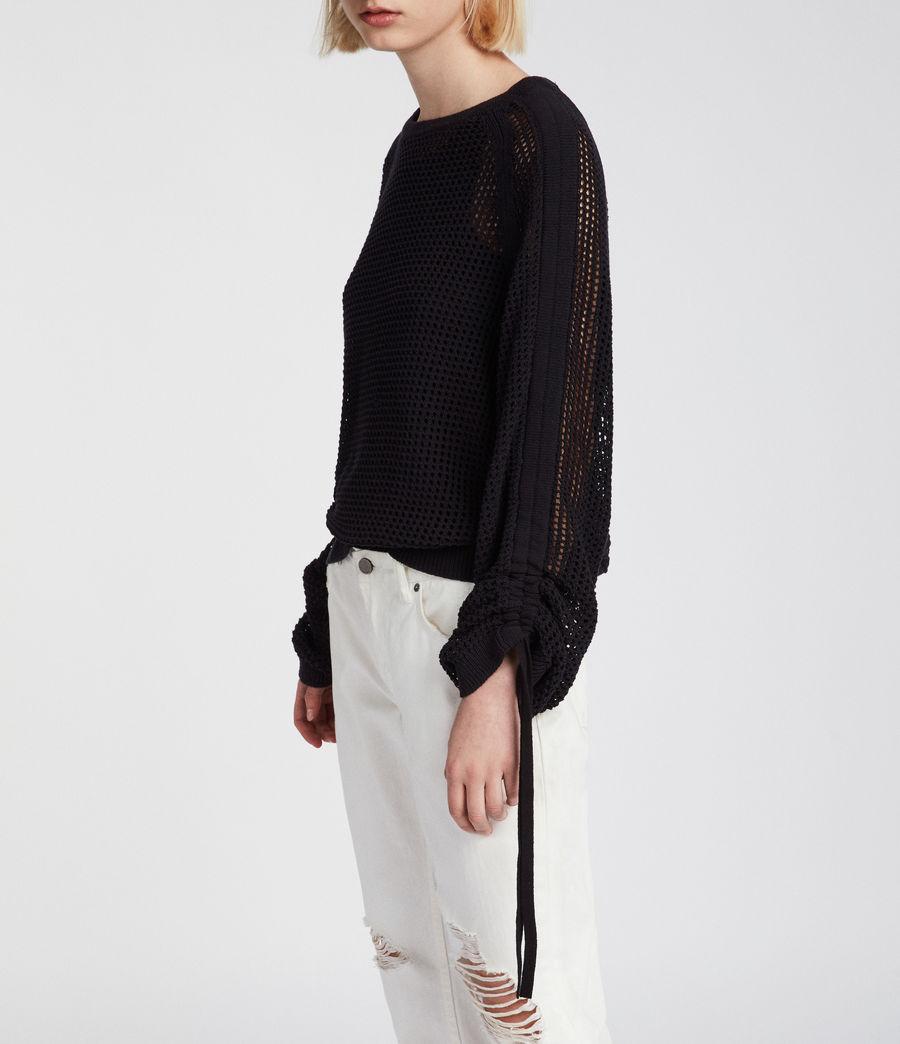 Mujer Jersey Zano Mesh (black) - Image 2