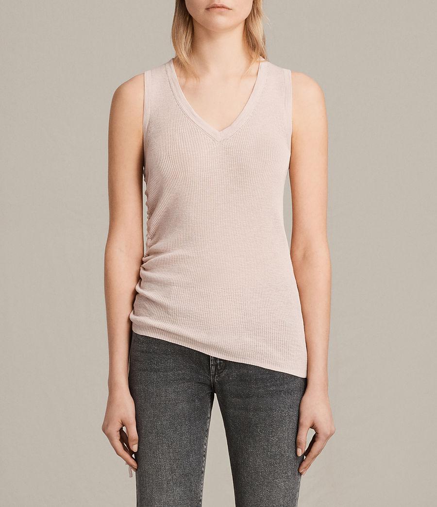 Womens Rosen Vest (petal_pink) - Image 1