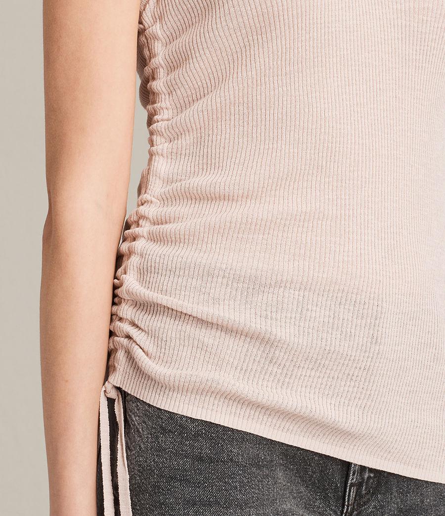 Womens Rosen Vest (petal_pink) - Image 2