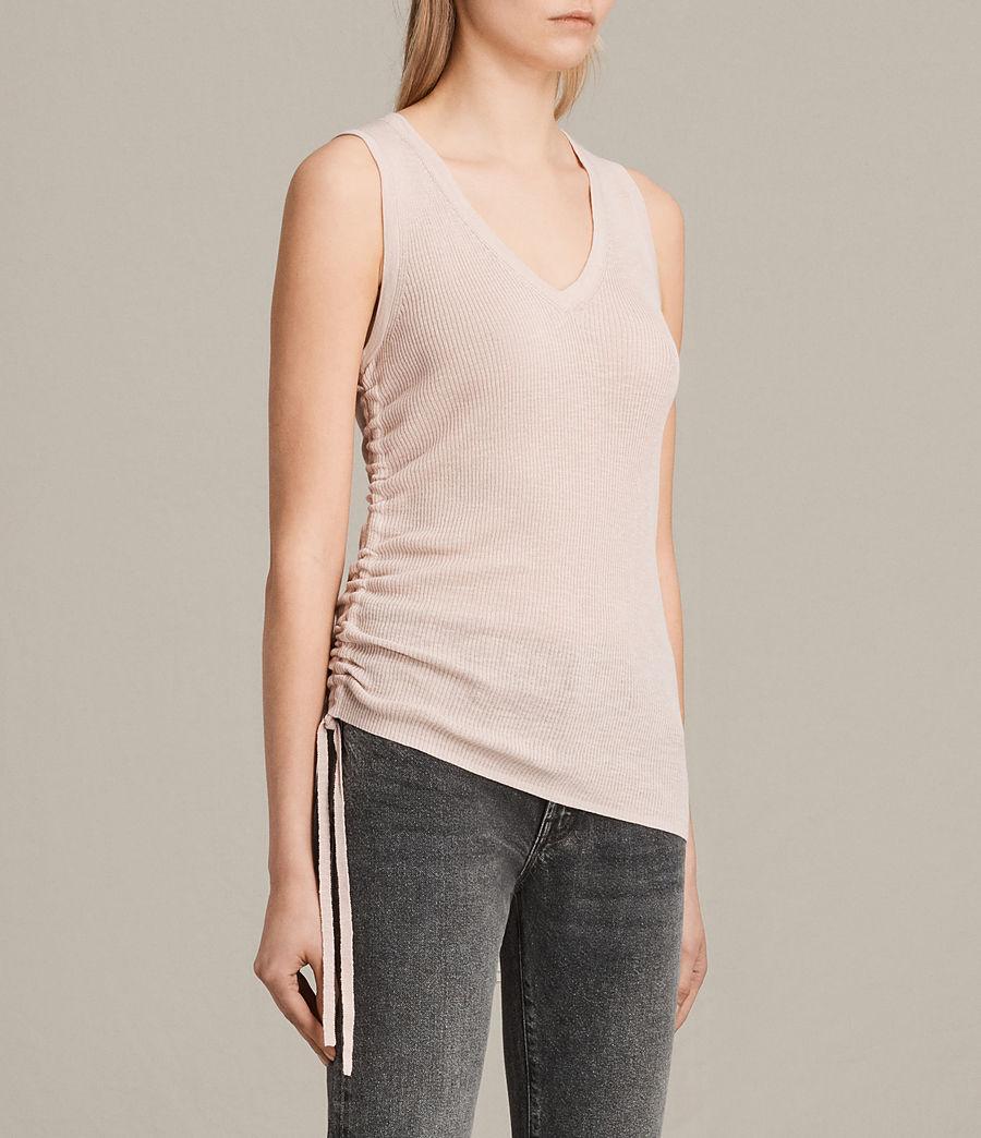 Womens Rosen Vest (petal_pink) - Image 3