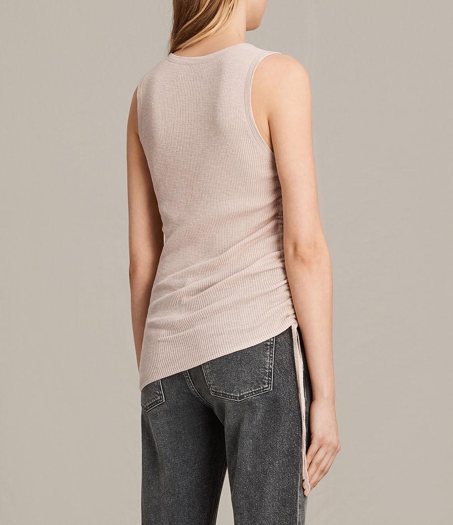 Womens Rosen Vest (petal_pink) - Image 4
