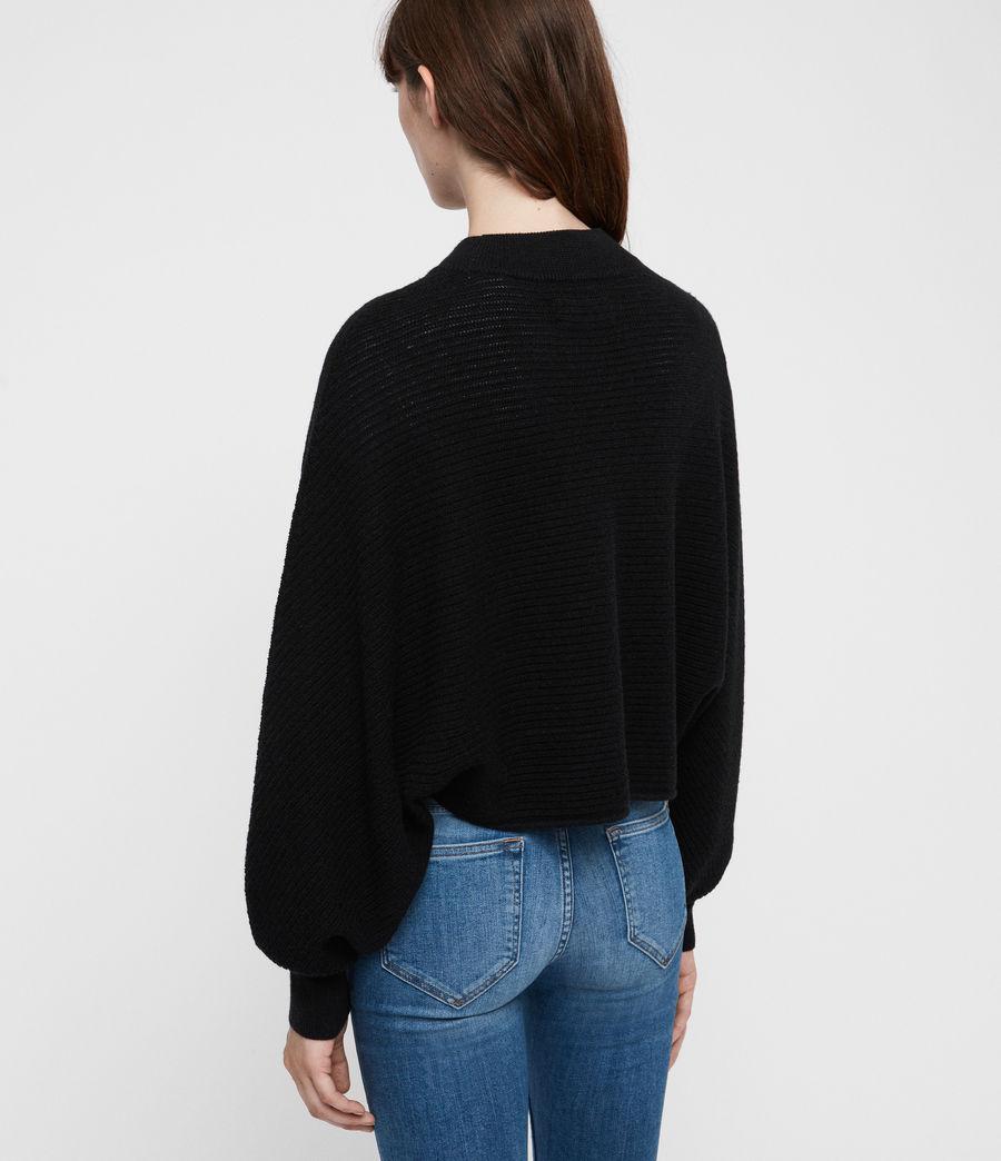 Damen Gene Pullover (black) - Image 4