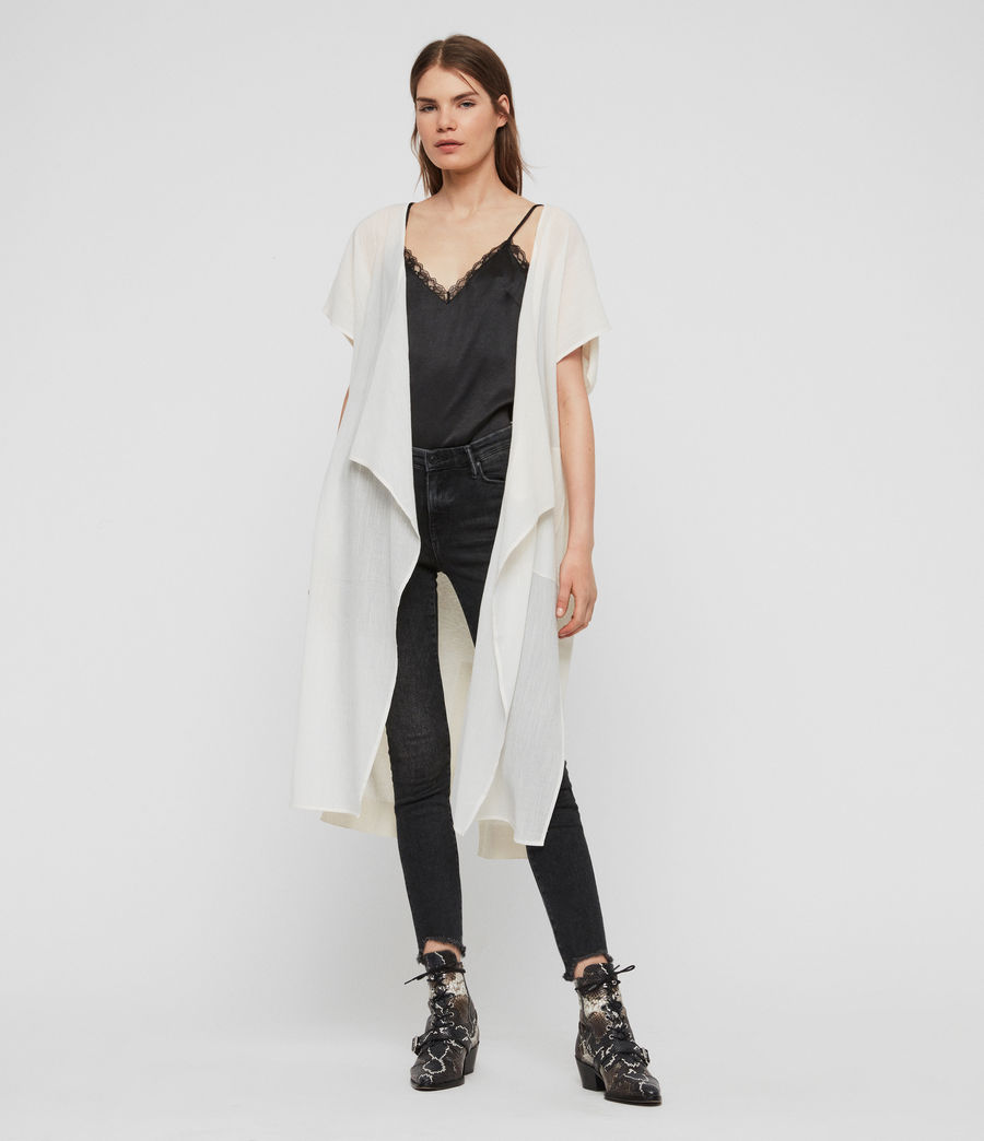 Women's Carmel Cardigan (chalk_white) - Image 1