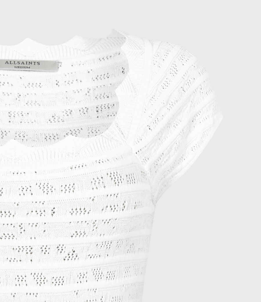 Women's Lace Top (off_white) - Image 5