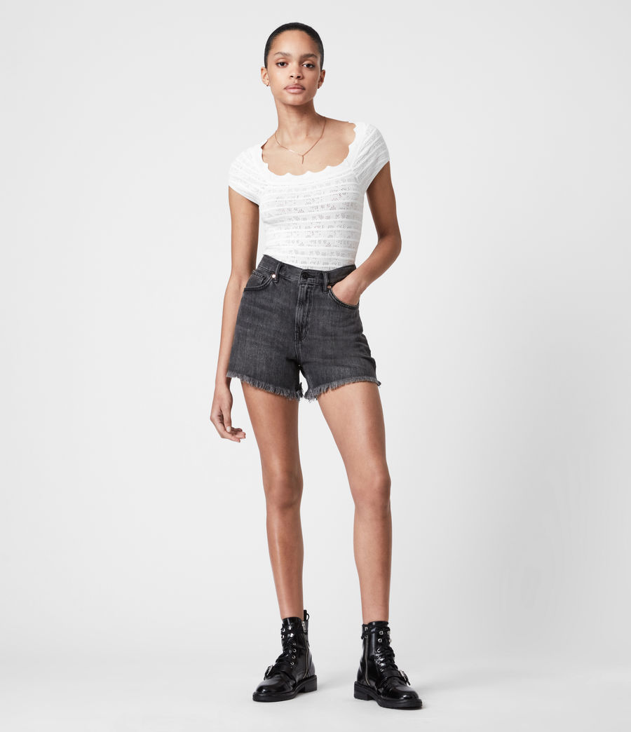 Women's Lace Top (off_white) - Image 6