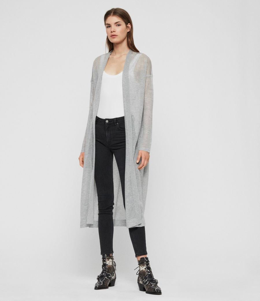 Women's Fleur Cardigan (pale_grey) - Image 1