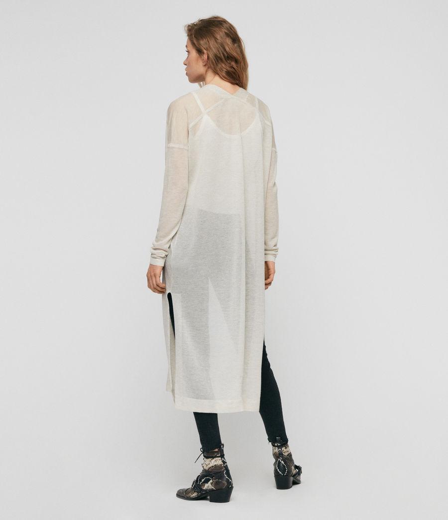 Femmes Cardigan Fleur (linen_white) - Image 5