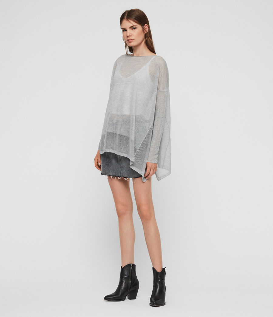 Women's Fran Jumper (pale_grey) - Image 2