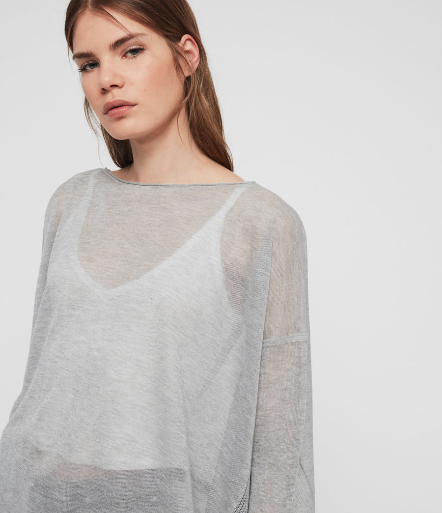Women's Fran Jumper (pale_grey) - Image 3