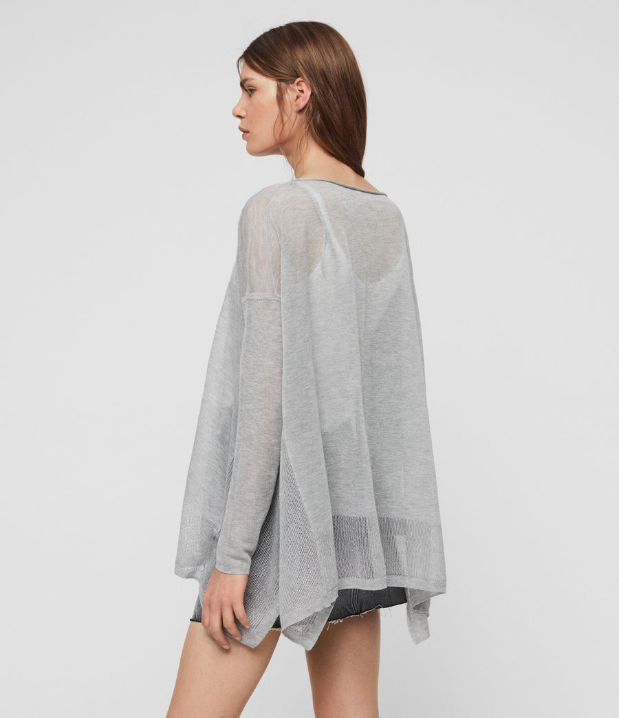 Women's Fran Jumper (pale_grey) - Image 4