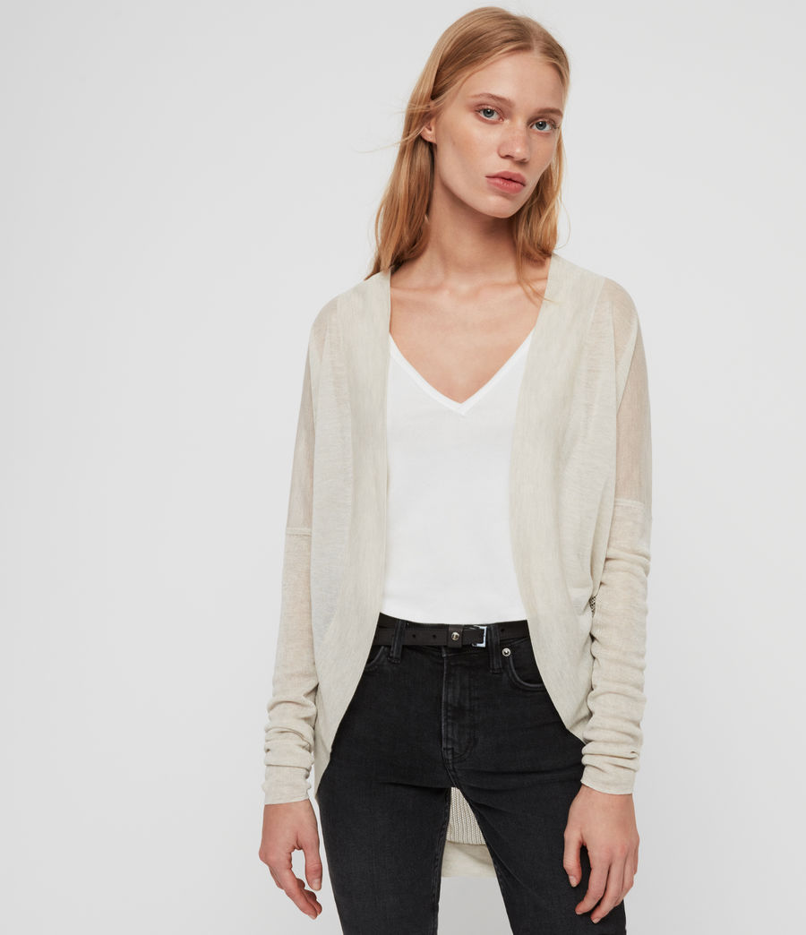 Womens Fran Cardigan (parchment_pink) - Image 1