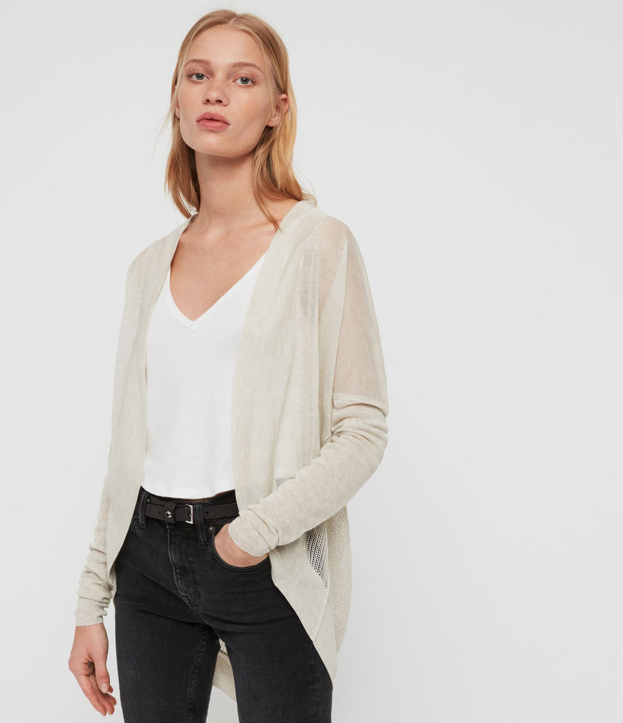 Womens Fran Cardigan (parchment_pink) - Image 2