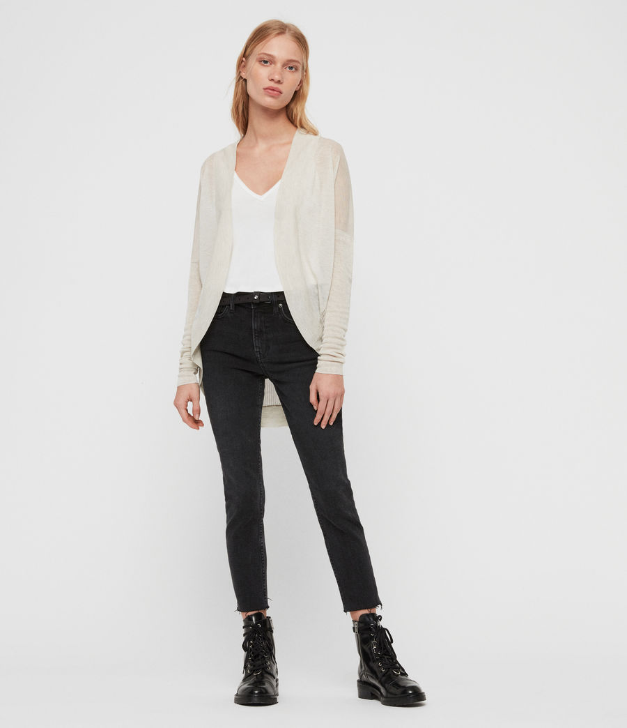 Womens Fran Cardigan (parchment_pink) - Image 3