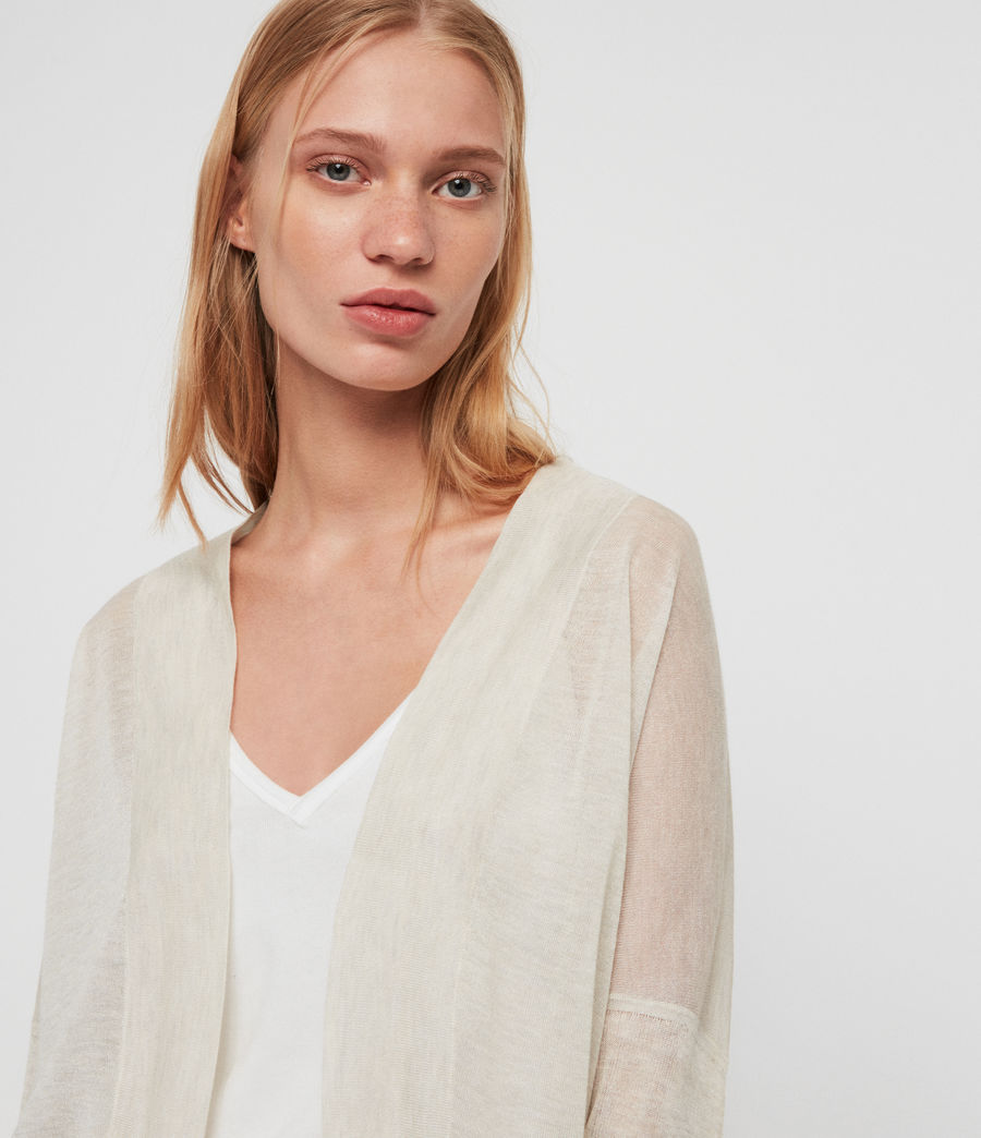 Womens Fran Cardigan (parchment_pink) - Image 4