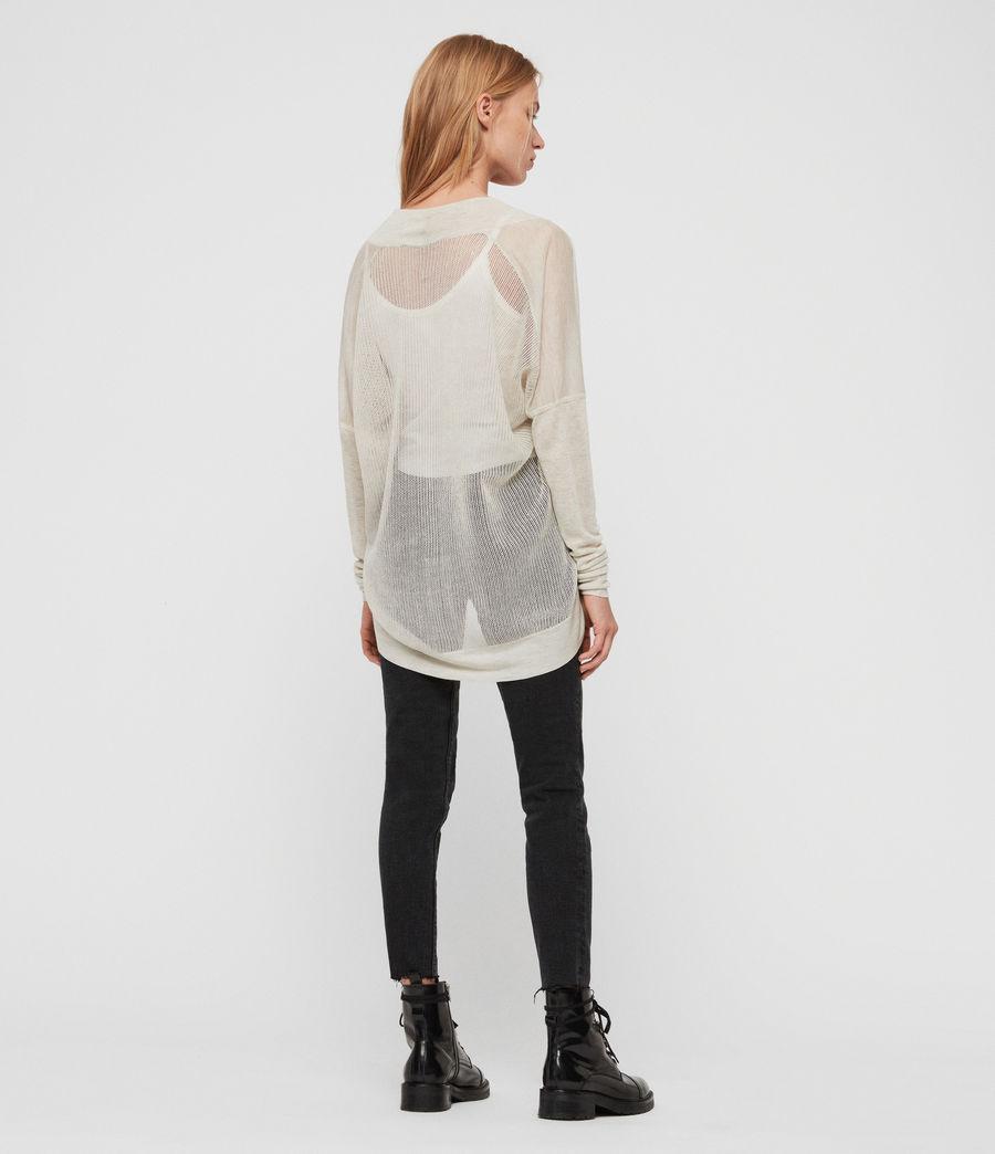 Womens Fran Cardigan (linen_white) - Image 5