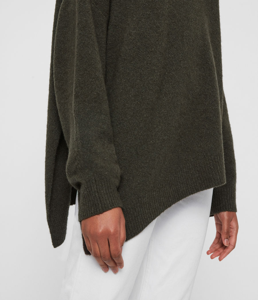 Women's Alley Jumper (military_green) - Image 5