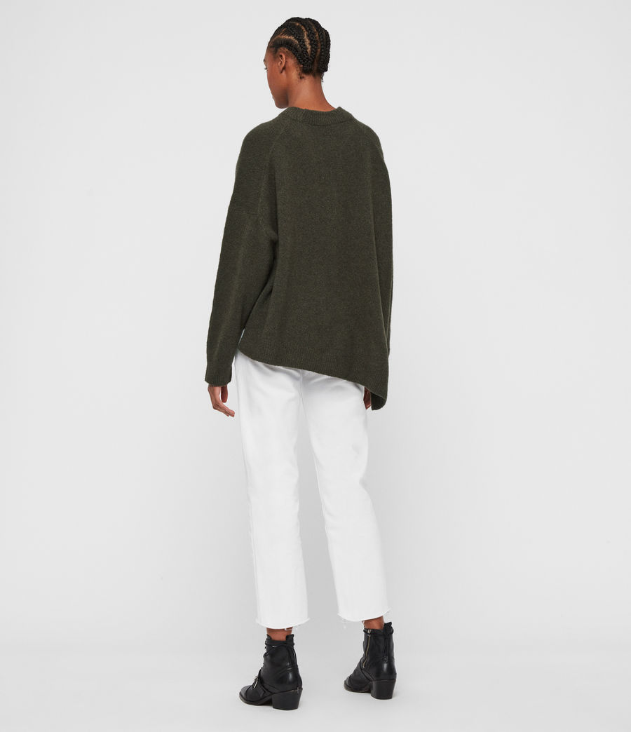 Women's Alley Jumper (military_green) - Image 6