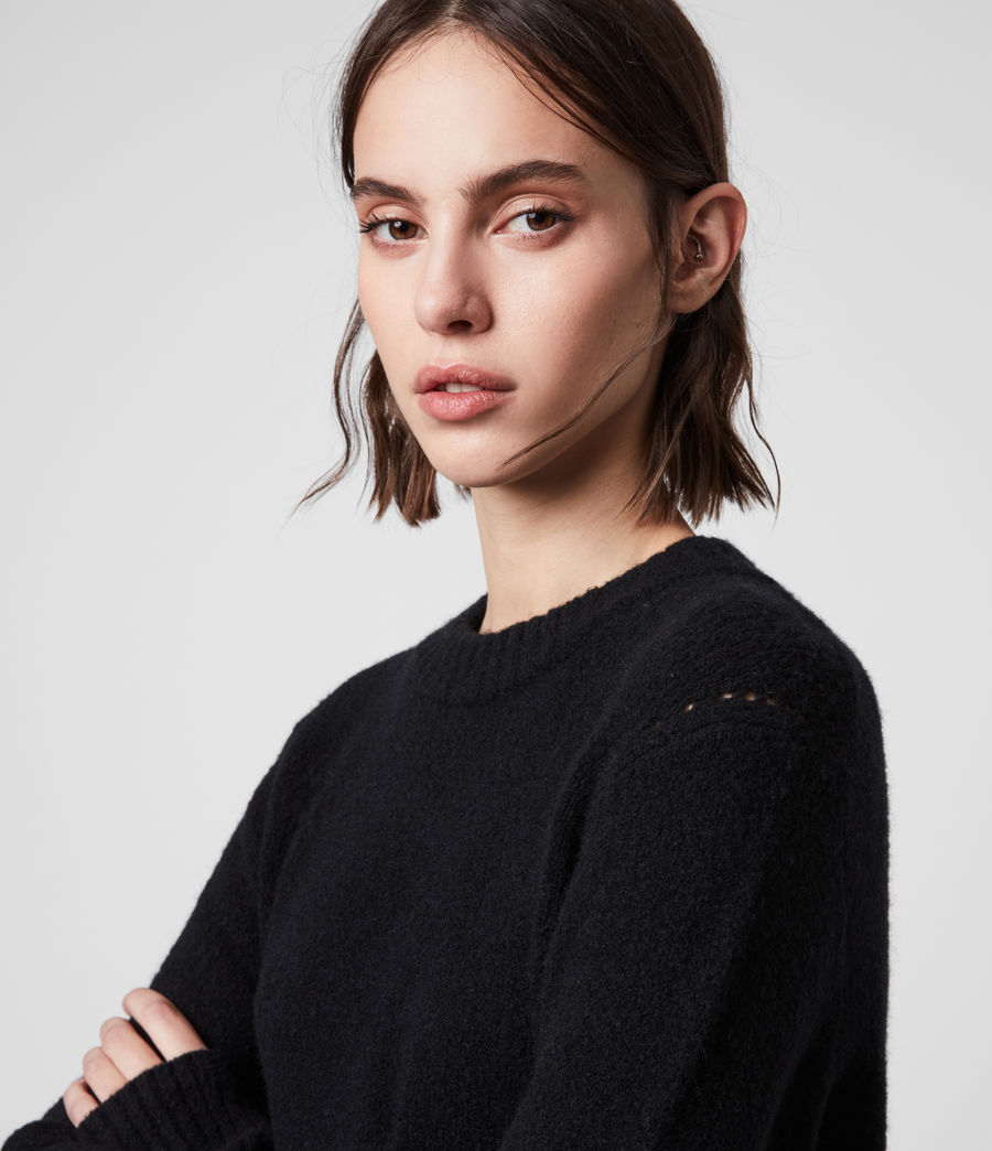 Womens Tierny Shirt Sweater (black) - Image 2