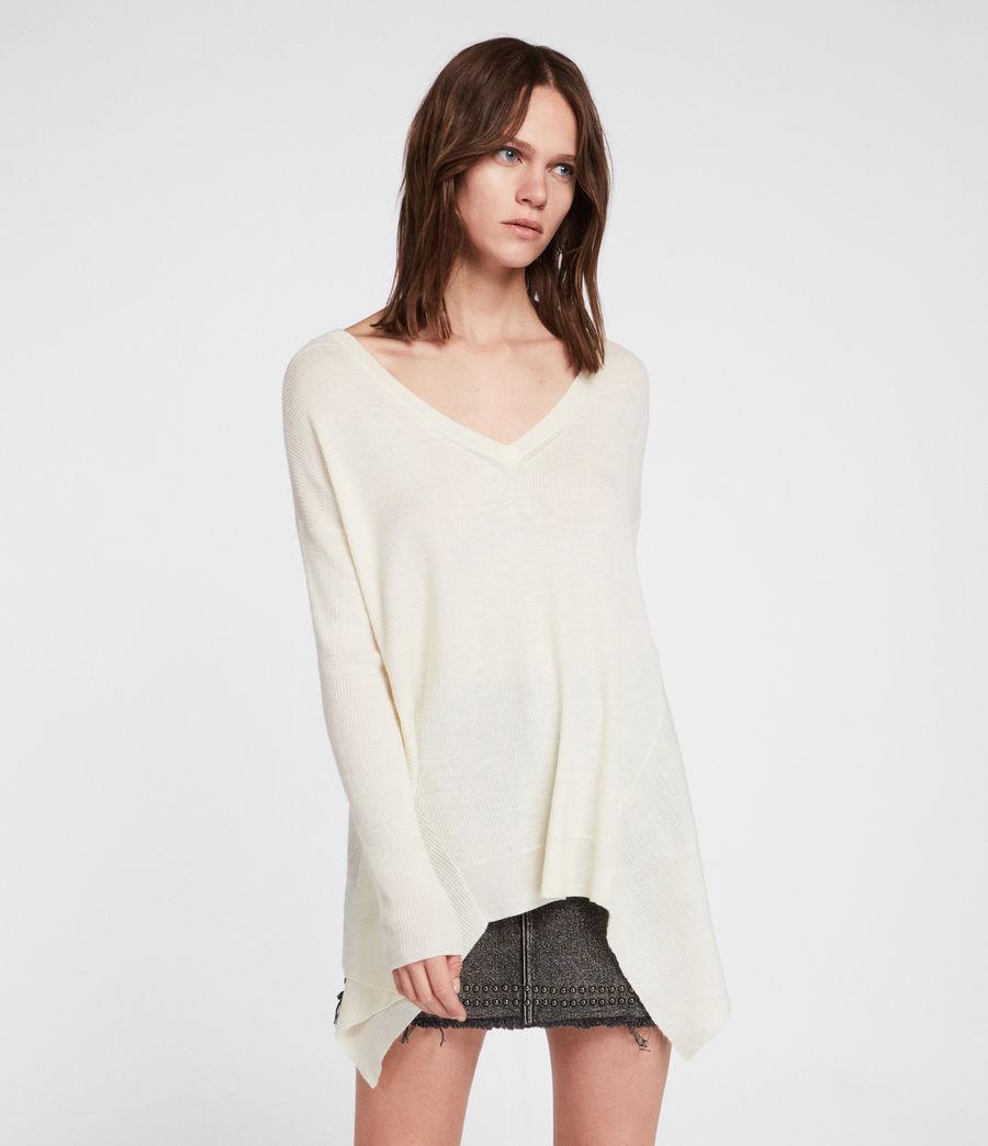 Femmes Pull Kelsey (chalk_white) - Image 1