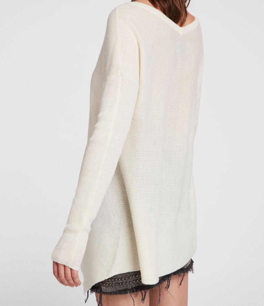 Femmes Pull Kelsey (chalk_white) - Image 3