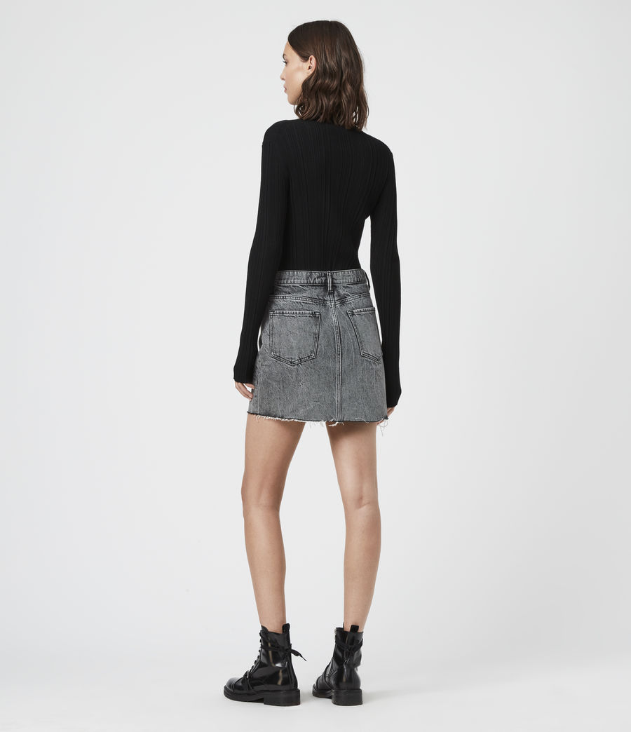 Women's Karla Knit Jumper (charcoal_grey) - Image 5