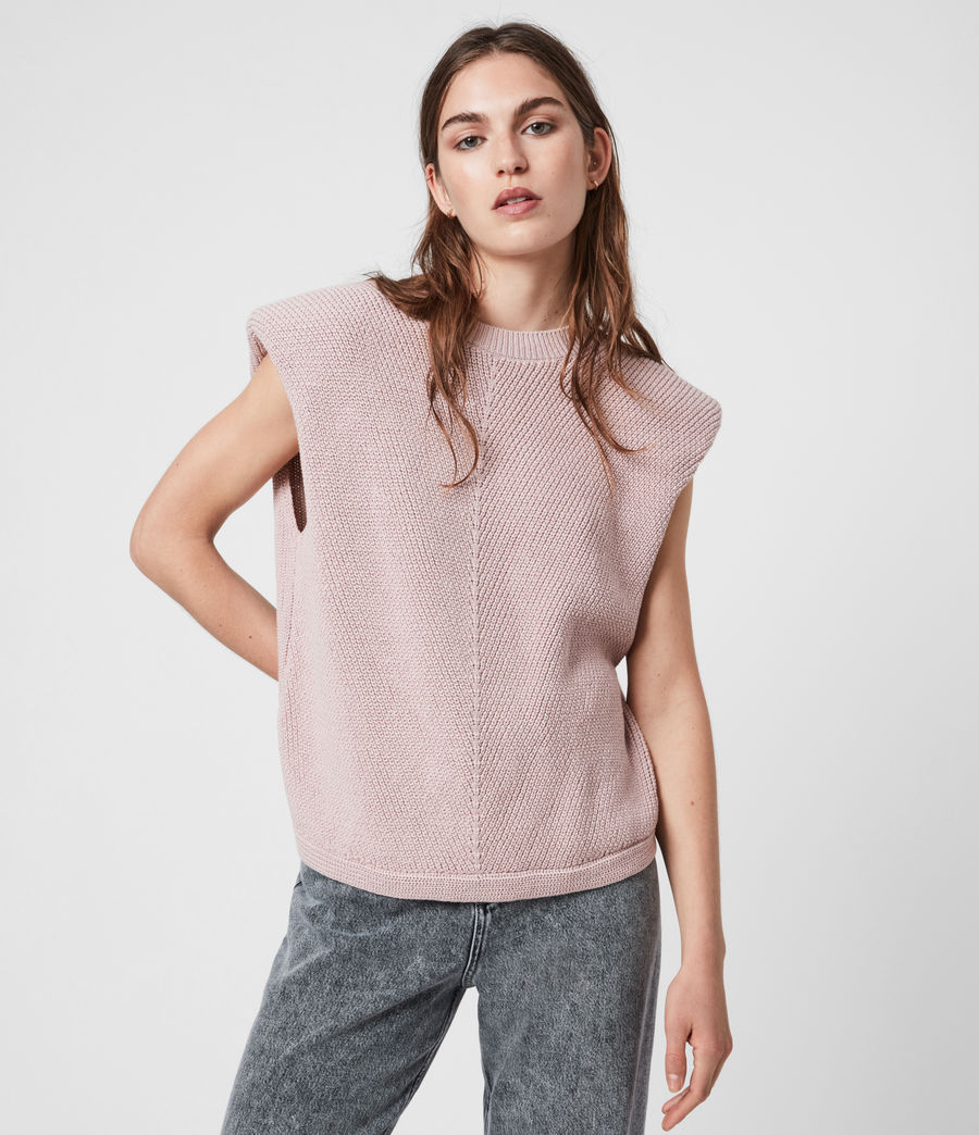 Womens Rio Knit Top (petal_pink) - Image 1