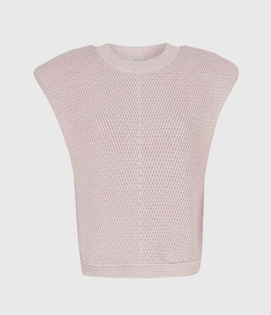 Womens Rio Knit Top (petal_pink) - Image 3