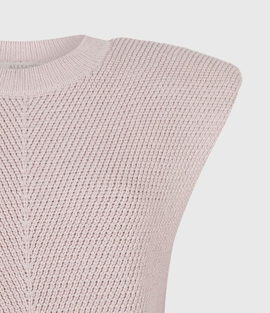 Womens Rio Knit Top (petal_pink) - Image 5
