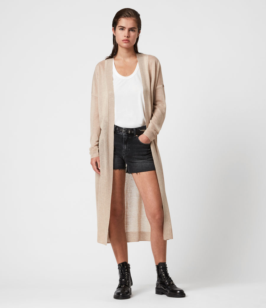 Women's Luca Cardigan (dull_gold) - Image 1