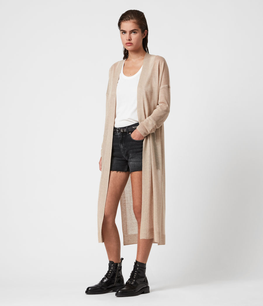 Women's Luca Cardigan (dull_gold) - Image 4