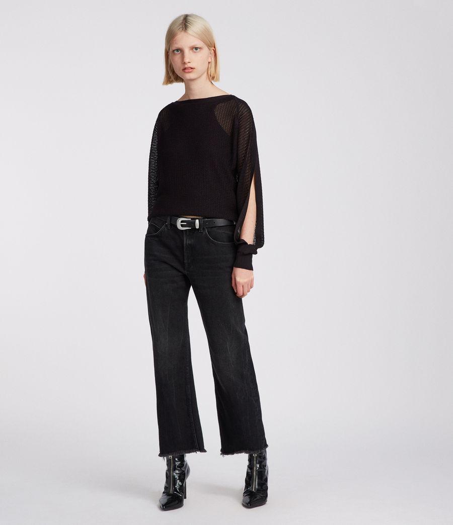 Femmes Top Elle (black) - Image 1