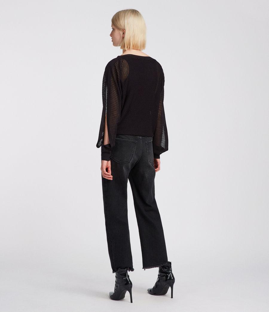 Femmes Top Elle (black) - Image 4