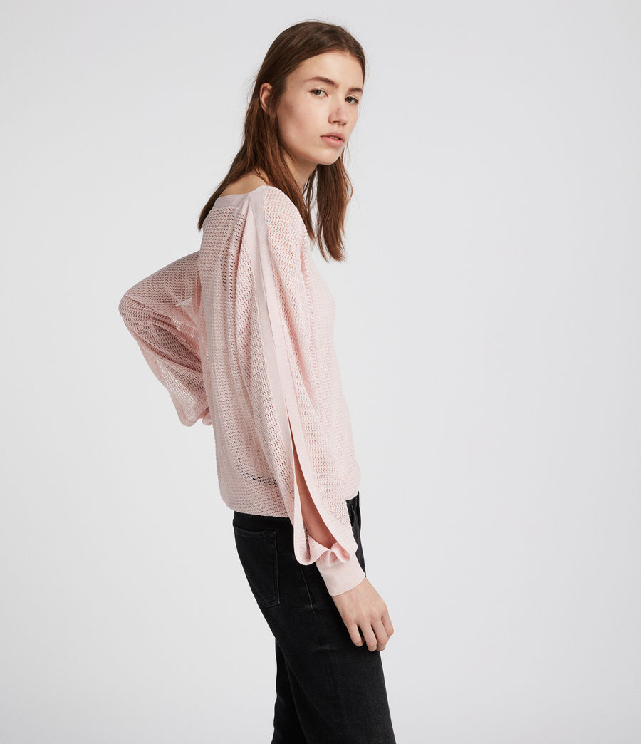 Women's Elle Top (candy_pink) - Image 2