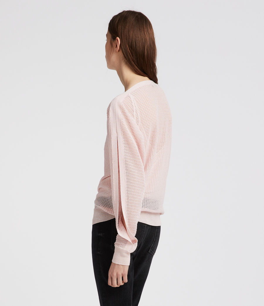 Womens Elle Top (candy_pink) - Image 3