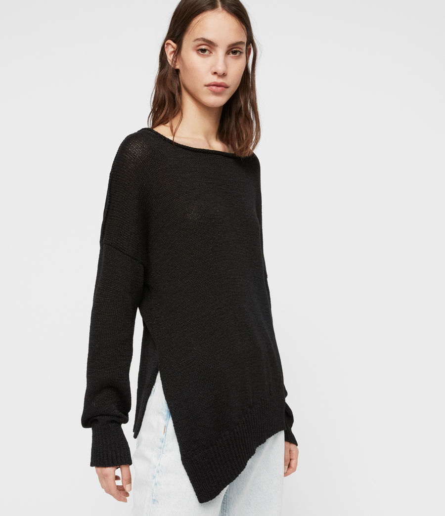 Womens Nadine Sweater (black) - Image 1