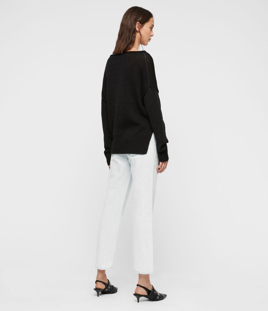 Women's Nadine Jumper (black) - Image 4