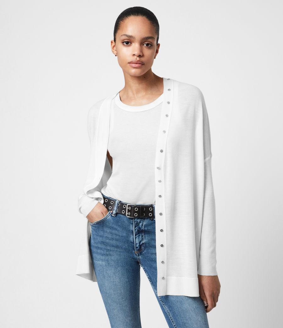 Femmes Cardigan Afelia (white) - Image 1