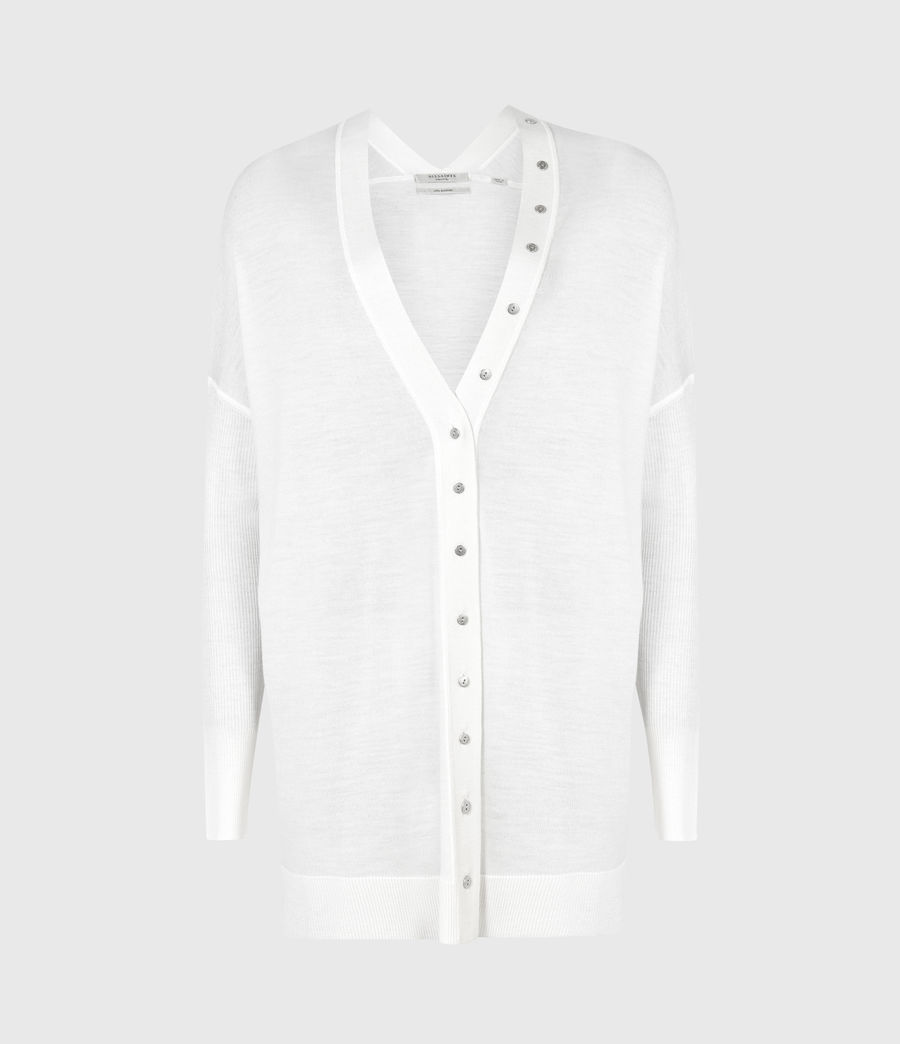 Femmes Cardigan Afelia (white) - Image 2