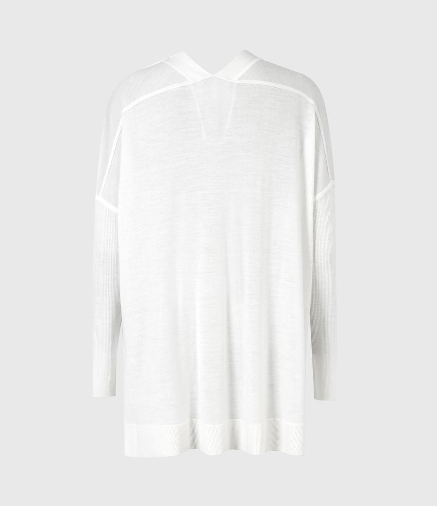 Femmes Cardigan Afelia (white) - Image 3