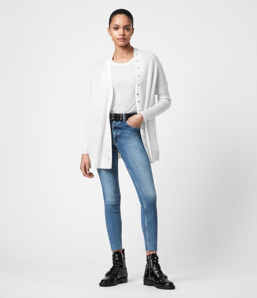 Femmes Cardigan Afelia (white) - Image 4