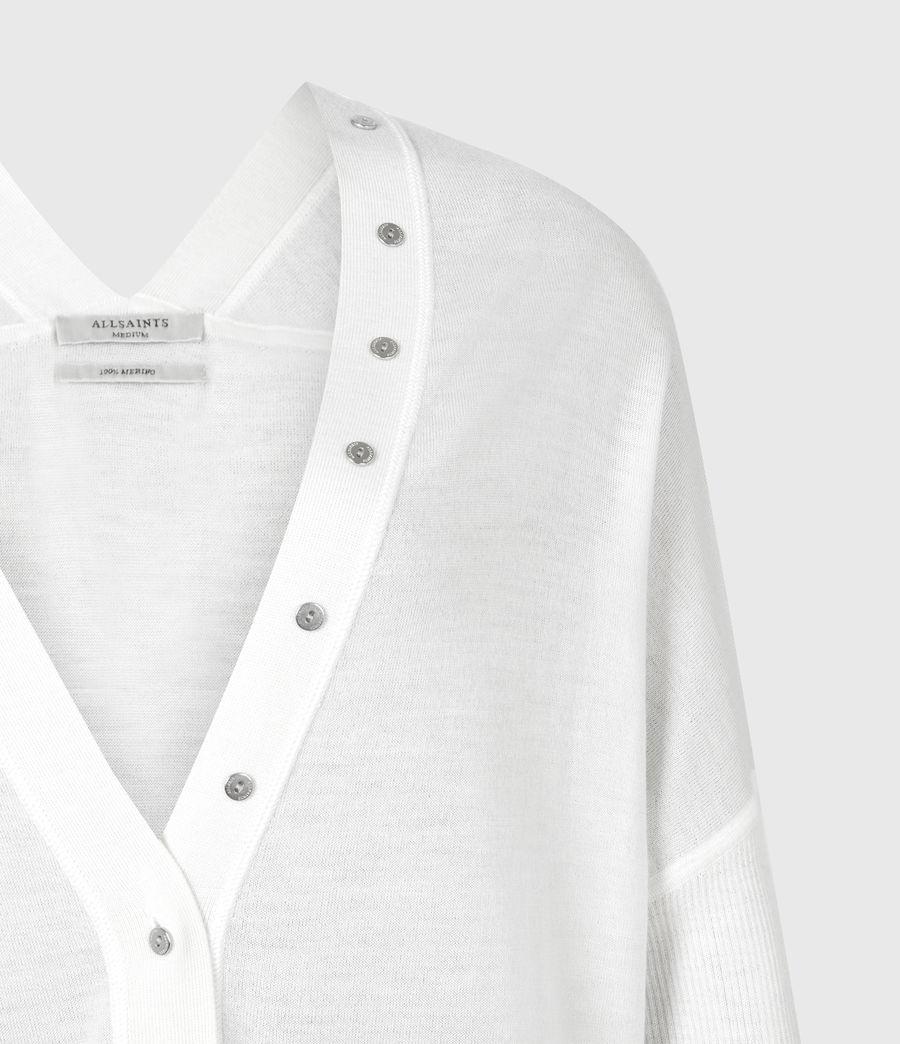 Femmes Cardigan Afelia (white) - Image 5