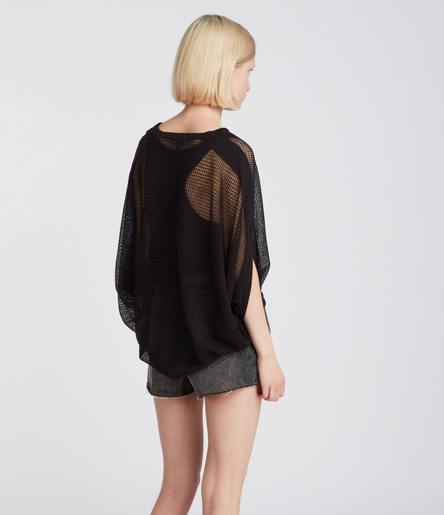 Damen Levita T-Shirt (black) - Image 4