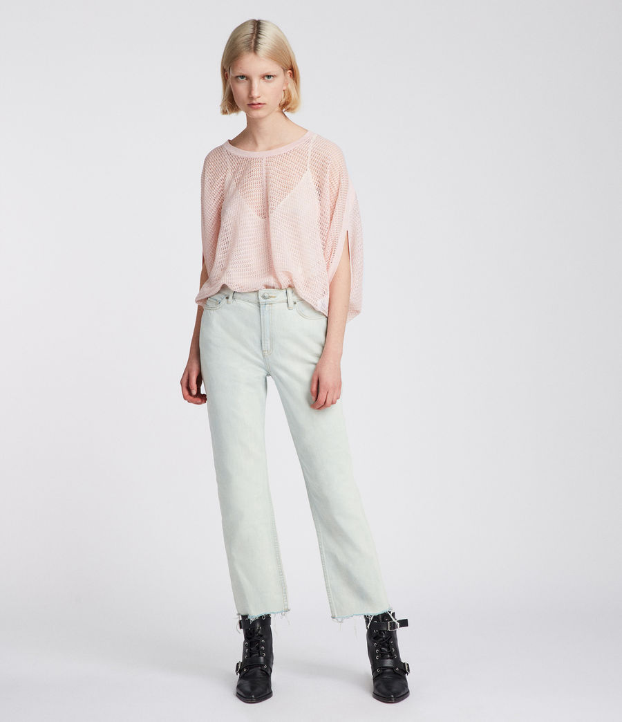 Womens Levita Knit Top (candy_pink) - Image 2