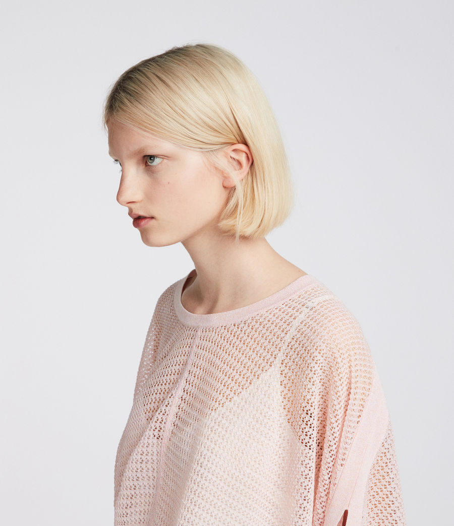 Womens Levita Knit Top (candy_pink) - Image 3