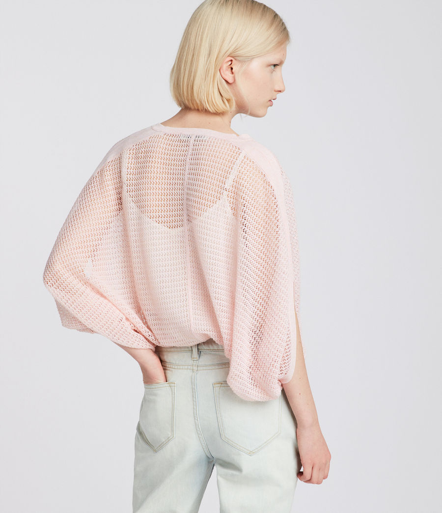 Womens Levita Knit Top (candy_pink) - Image 4