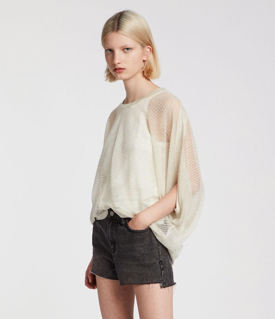 Womens Levita Knit Top (linen_white) - Image 1