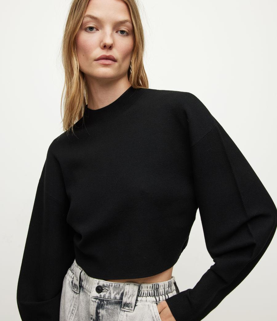 Damen Dimia Jumper (black) - Image 1