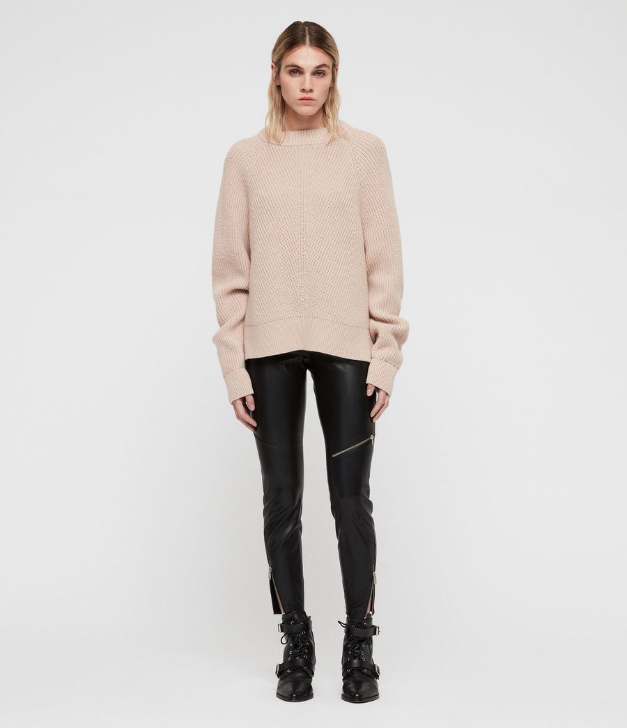 Womens Sylvie Sweater (nude_pink) - Image 1
